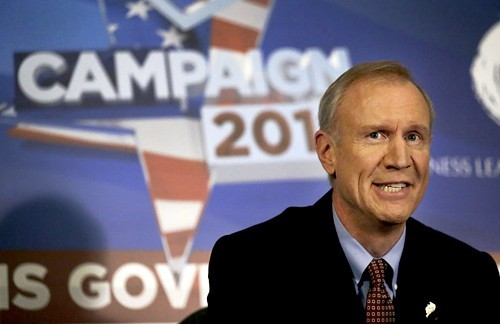 Bruce Rauners campaign has accused the Sun-Times of an ethical violation.