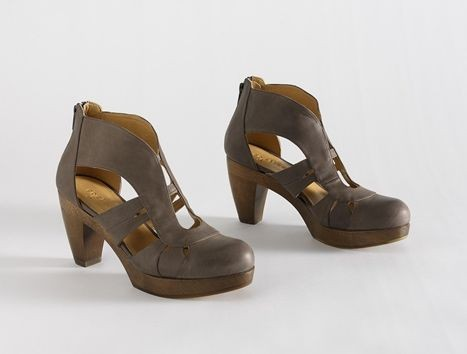 Ellewee clog booties by Coclico, $435 at City Soles