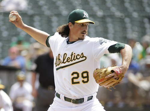 Jeff Samardzija took the long way from Clark and Addison to 35th and Shields, transferring in Oakland.