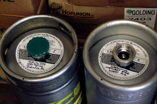 Kegs of IBU Overload and Superluminal in Empiricals cold room