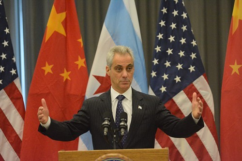 Mayor Emanuel's formal education began at Anshe Emet, a Jewish school in Lakeview. His family moved to Wilmette when he was 8, and he graduated from New Trier high school.