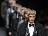 Models wear Gucci creations during fashion week in Milan in January. These will soon be staples at the Reader.
