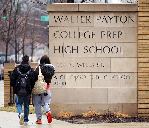 More whites and fewer blacks are getting into Chicagos elite public high schools, including Payton College Prep.