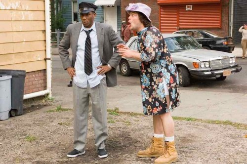 Mos Def and Jack Black preparing to remake Driving Miss Daisy in Be Kind Rewind