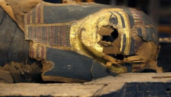 No big deal, just a 2,500-year-old coffin