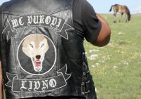 One of the bikers of Wild