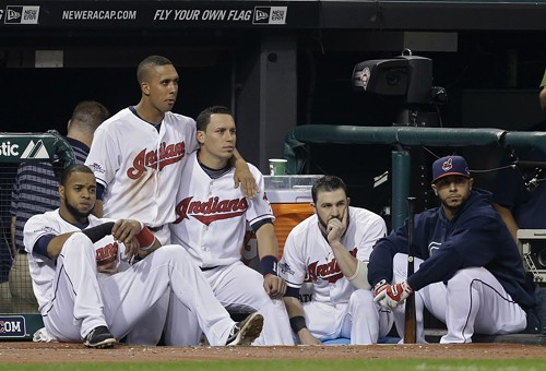 The Cleveland Indians, losers of a wild-card baseball game