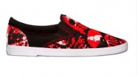The limited edition Skullz shoe from BucketFeet