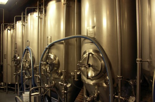 This picture is in case you dont yet know what fermentation vessels look like.