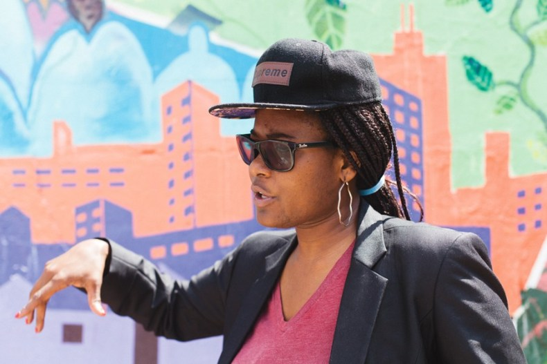 """Jessica Disu didn't always consider herself a police abolitionist. Now, she says, """"our police is not working—we need to replace it with something new."""" - DANIELLE A. SCRUGGS"""