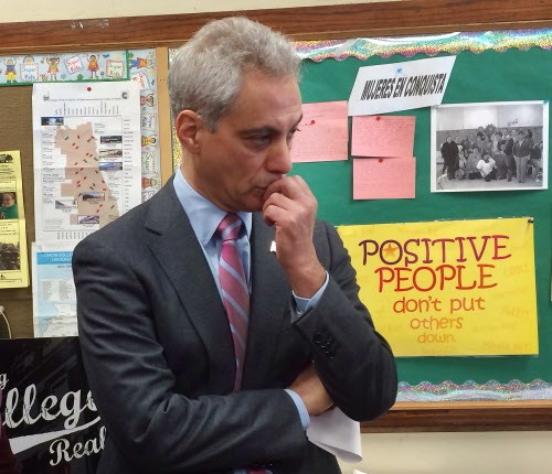 What the heck is Mayor Rahm up to with his proposal to raise the minimum wage to $9.25 an hour?