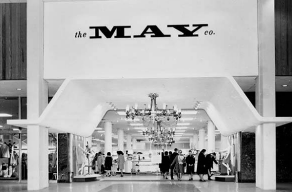 Cavs Owner Dan Gilbert to Renovate May Company Building on Public     click image A vintage image of the May Company department store in  Parmatown Mall