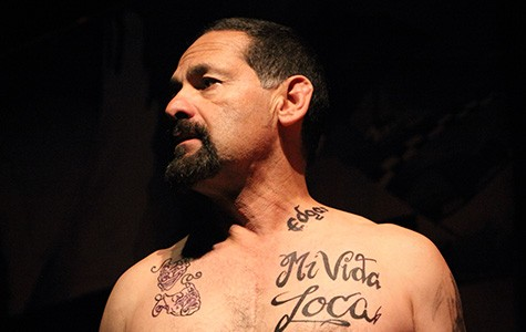 Actor Ric Salinas in Placas.