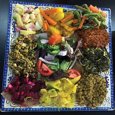 Abyssinia Ethiopian Restaurant, Yetsome Beyaynetu - JULIE RAY