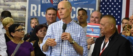 Orlando Weekly After boos and protests  Rick Scott calls for red tide research center   task force