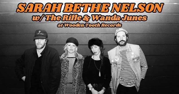 COURTESY OF SARAH BETHE NELSON W/ THE RIFLE & WANDA JUNES FACEBOOK EVENT PAGE