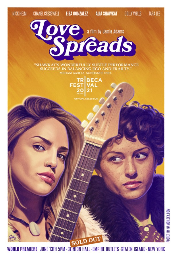Love Spreads Poster