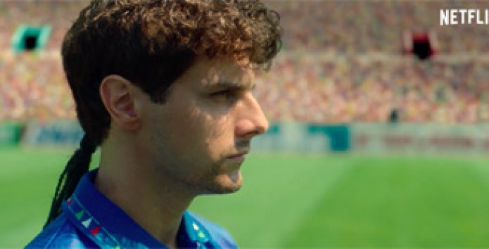 Teaser for Netflix's 'The Divine Ponytail' Film About Roberto Baggio |  FirstShowing.net