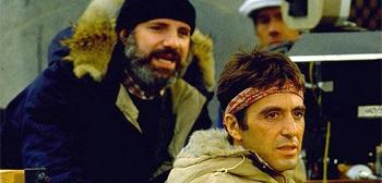 Brian De Palma y Al Pacino