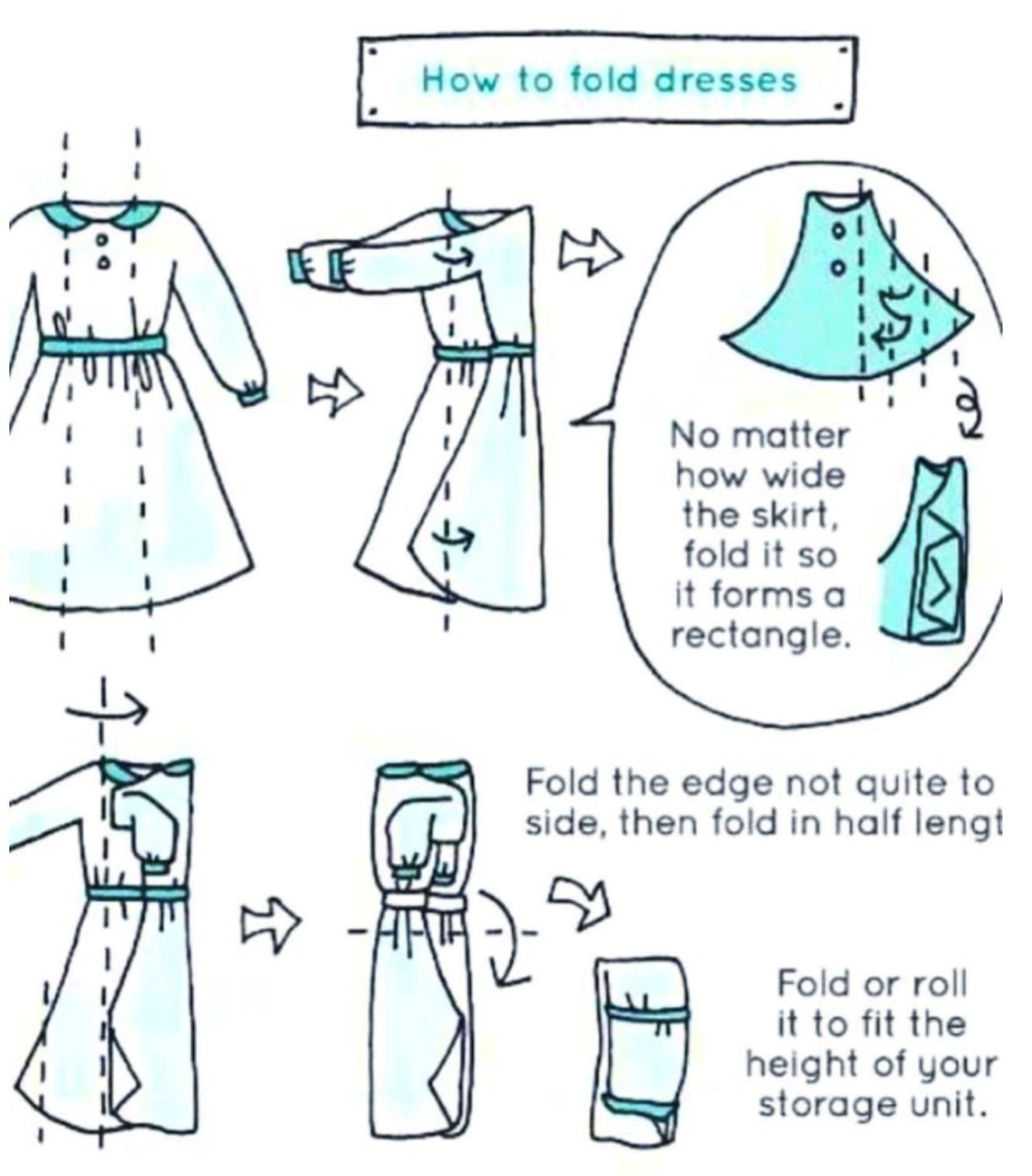 teknik lipat baju jepun 'konmari', buat almari pakaian korang kemas betul!