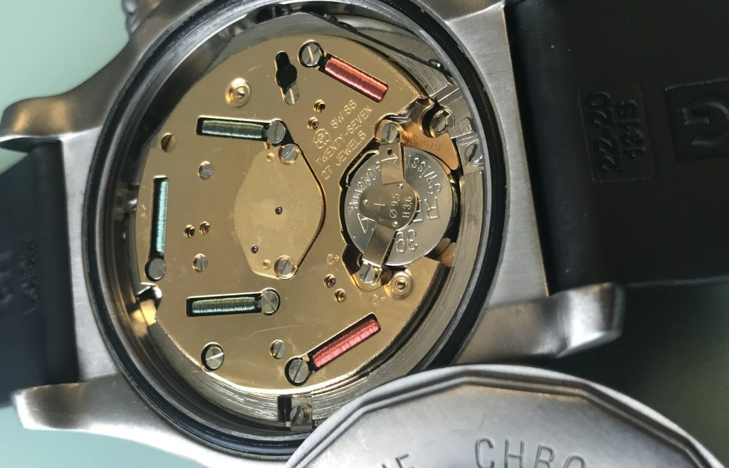 How do you know if your watch needs a battery or a service?