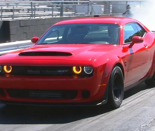 Dodge Challenger Srt Demon Test Drive Video