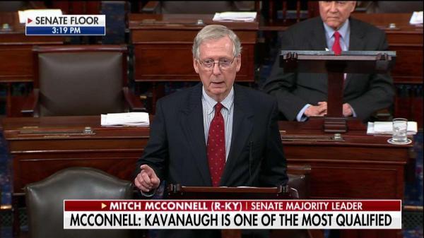 GOP senators defend Kavanaugh as exasperation mounts: 'We ...