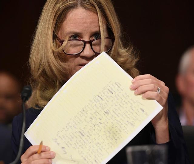 Who Leaked Christine Blasey Fords Kavanaugh Letter