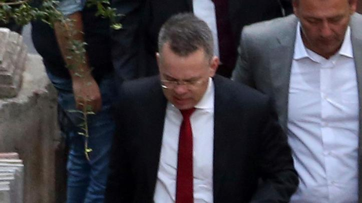 Pastor Andrew Brunson freed after two years in Turkey