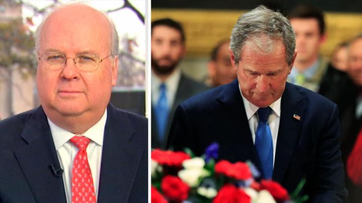 Karl Rove: George W. Bush penned dad's eulogy alone