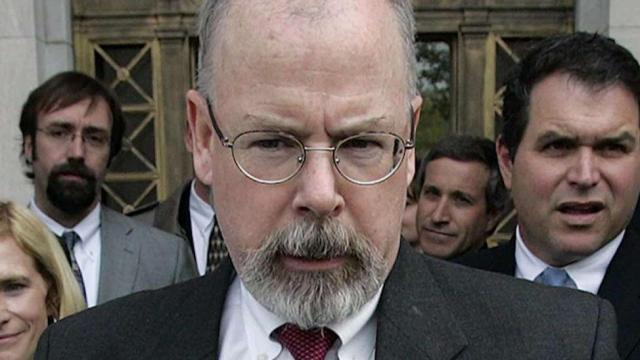 Attorney General William Barr appoints US Attorney John Durham to investigate Russia probe genesis