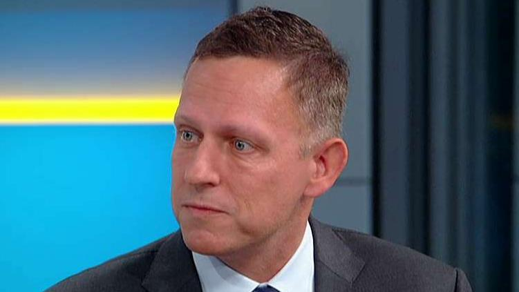 Peter Thiel calls out Google for appearing to choose China over US military