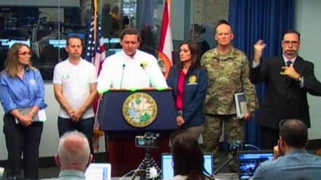 FL officials give update on Hurricane Dorian