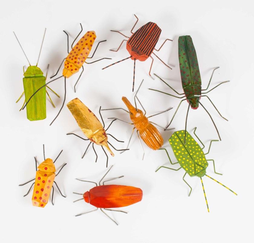 Täljda insekter av Kalle Forss
