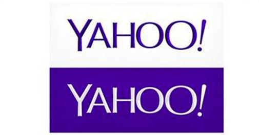 Yahoo finally unveils new logo