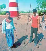 New tools: Pathan (L) and Dash now work on a construction site