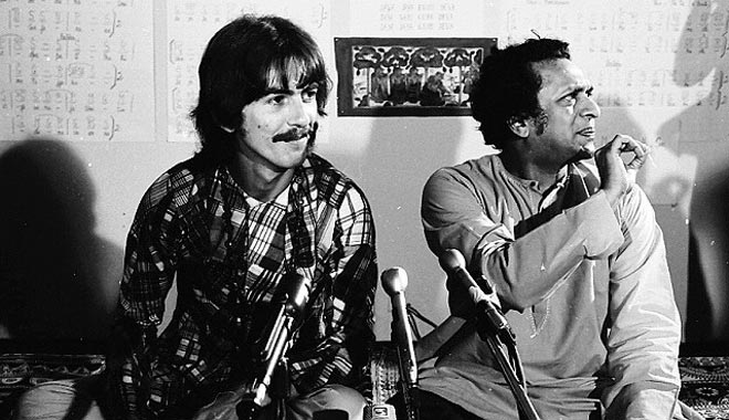 Ravi Shankar and George Harrison: lost in the '60s?
