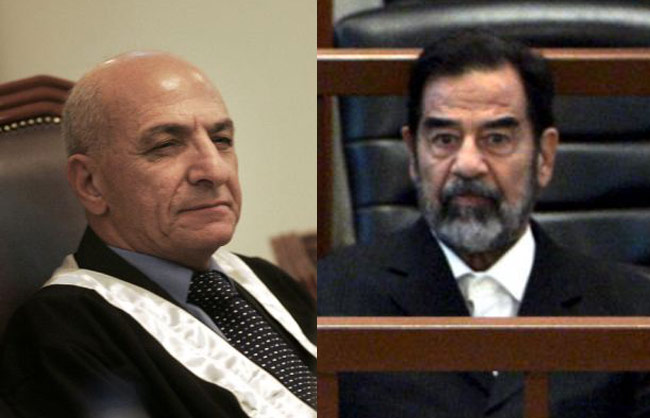 Raouf Abdul Rahman and Saddam Hussein