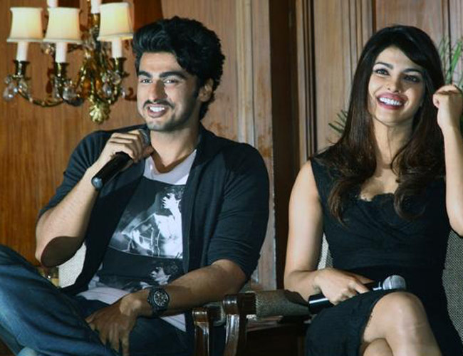 "Priyanka Chopra and <a href=""http://indiatoday.intoday.in/people/arjun-kapoor/18652.html"">Arjun Kapoor</a>"