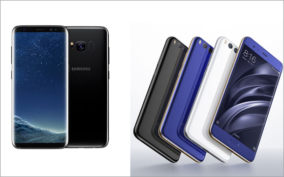 Samsung Galaxy S8 Vs Xiaomi Mi 6: Top specs shootout
