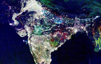 India Diwali Night