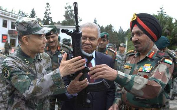 China says unconcerned about India-US joint military ...