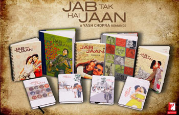 Jab Tak Hai Jaan stationery