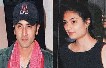 Ranbir Kapoor, Athiya and Suniel Shetty