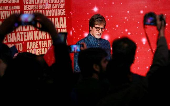 Image result for Madame Tussauds showcases Bollywood icon Amitabh Bachchan's waxwork