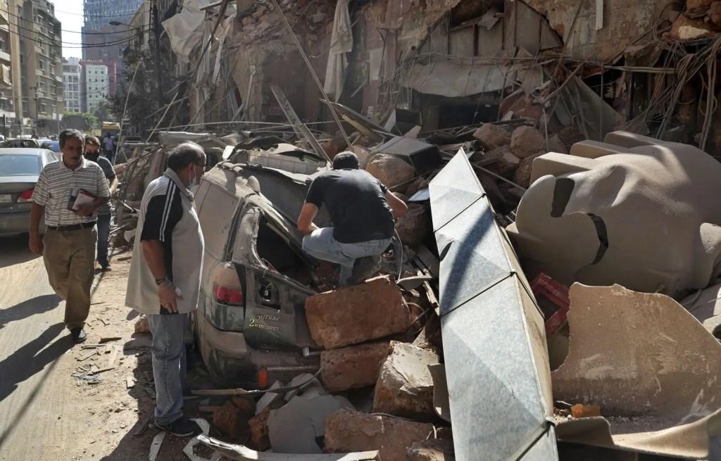 Une résidente de Beyrouth raconte la panique après l'explosion