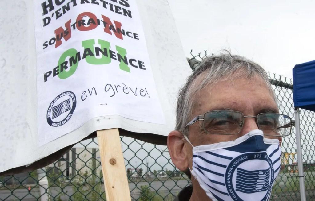 Un deuxième syndicat lance une grève au port de Montréal