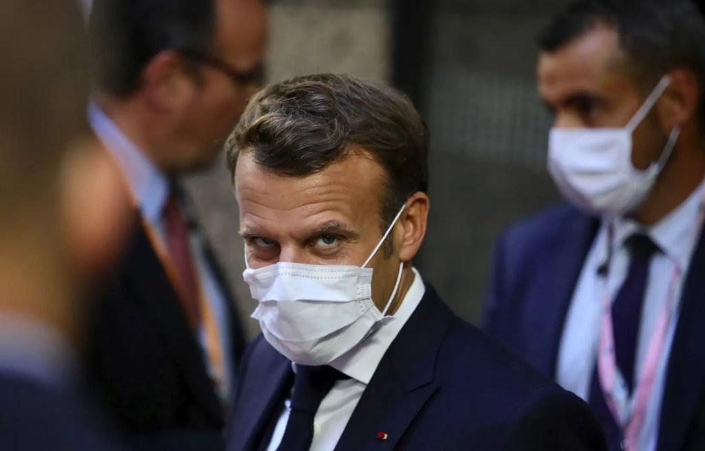 Macron exhorte la communauté internationale à «agir vite»