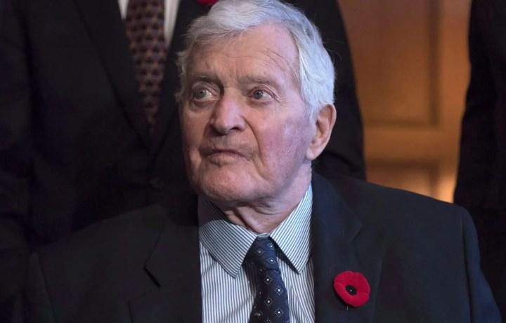 L'ancien premier ministre fédéral John Turner s'est éteint
