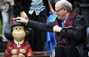 Mafalda, petite fille espiègle à la tignasse noire, a perdu son père: le dessinateur argentin Joaquin Salvador Lavado, dit Quino, est décédé à l'âge de 88 ans.